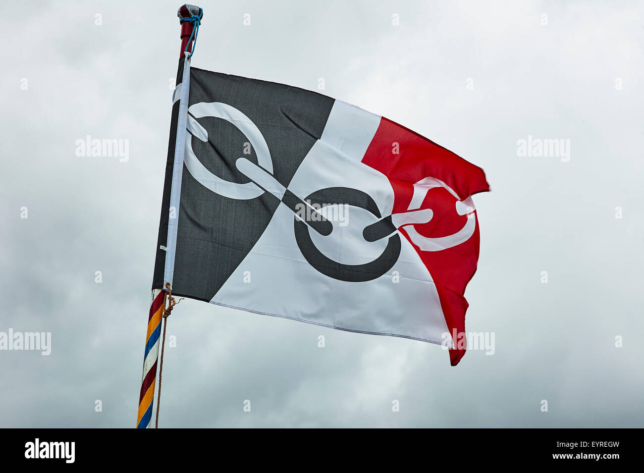 Flag of the Black Country - Stock Image