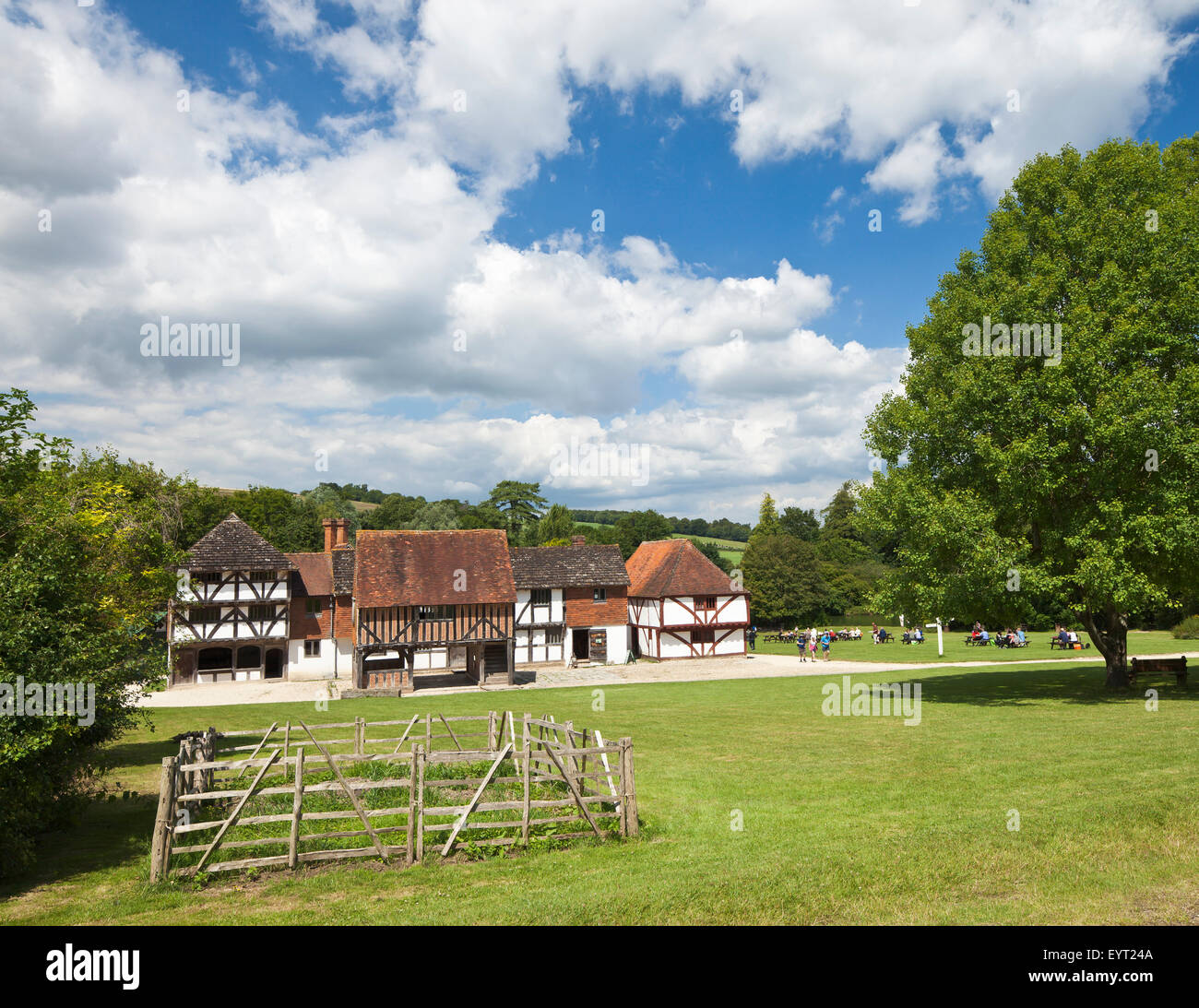 The Weald and Downland Open Air Museum, Singleton, West Sussex. - Stock Image