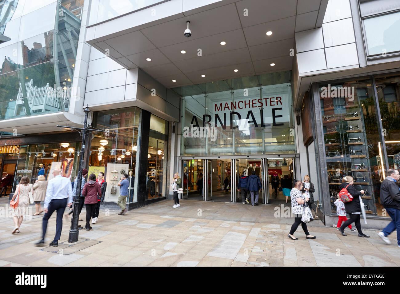 The arndale shopping centre Manchester England UK - Stock Image