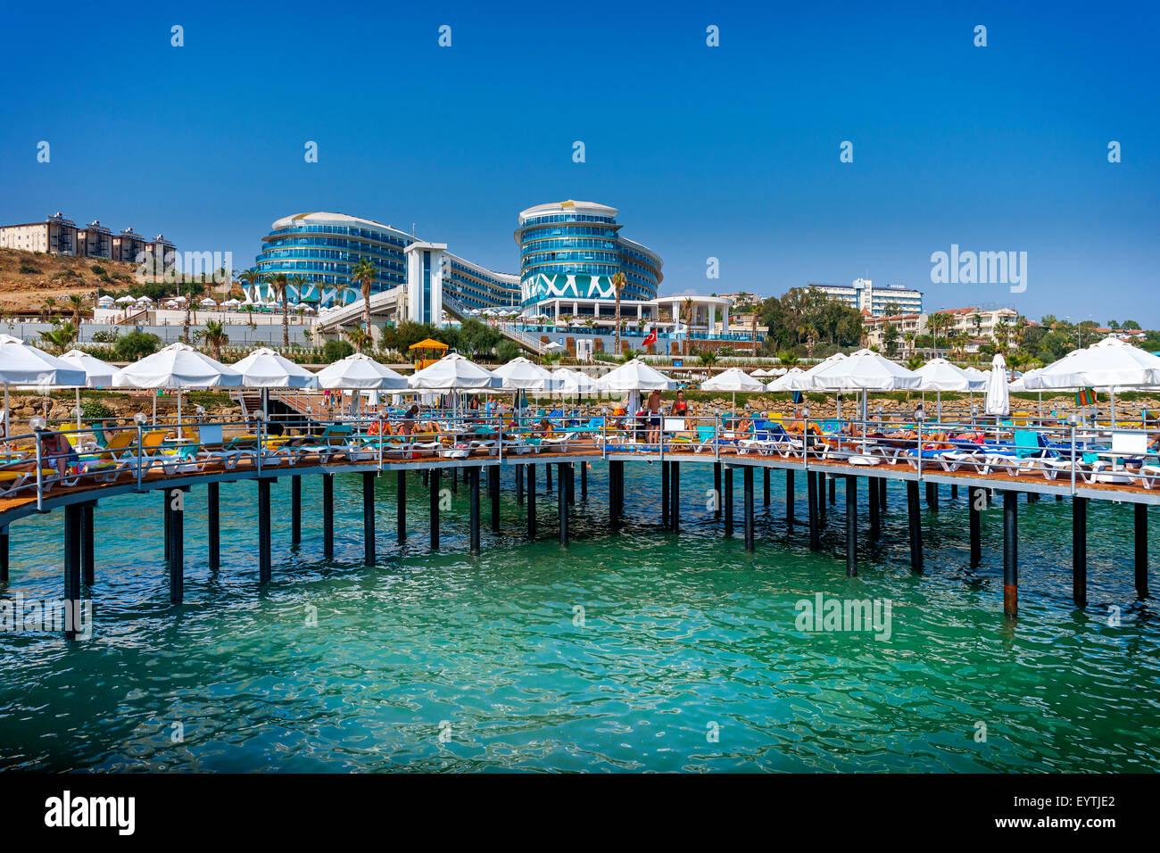 Turkey, Avsallar, hotel complex, Vikingen Infinity Resort & spa ...
