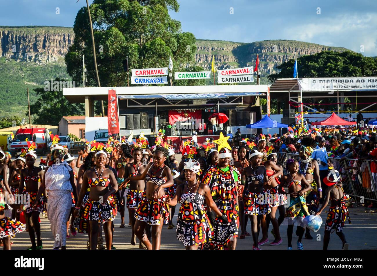 Carnival do Lubango, Angola (2014) - Stock Image
