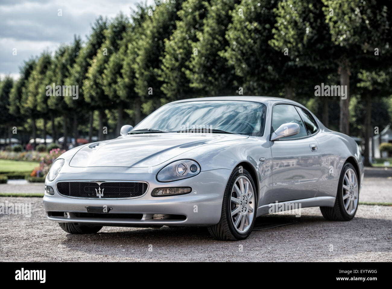 Schwetzingen, Baden-Wurttemberg, Germany, Maserati 3200 GT at the Classic-Gala, Concours d'Elégance in - Stock Image
