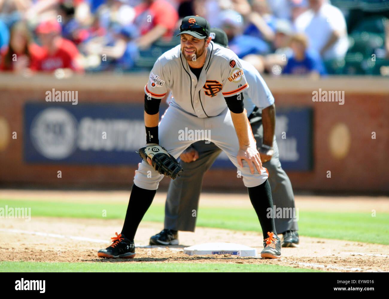 aug 02, 2015: san francisco giants first baseman brandon belt #9