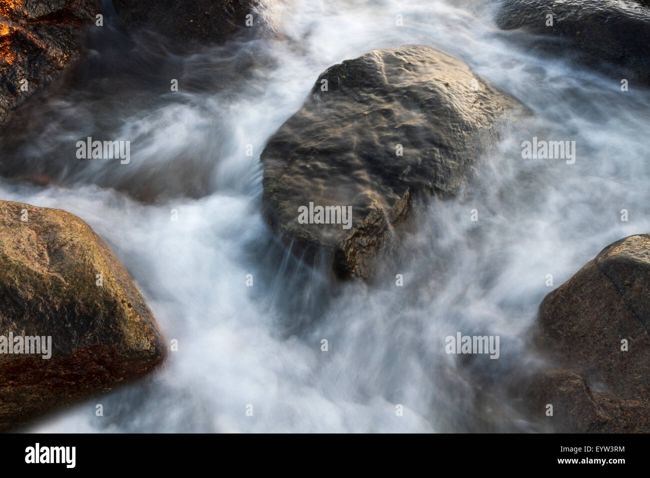 Stones in the sea - Stock Image