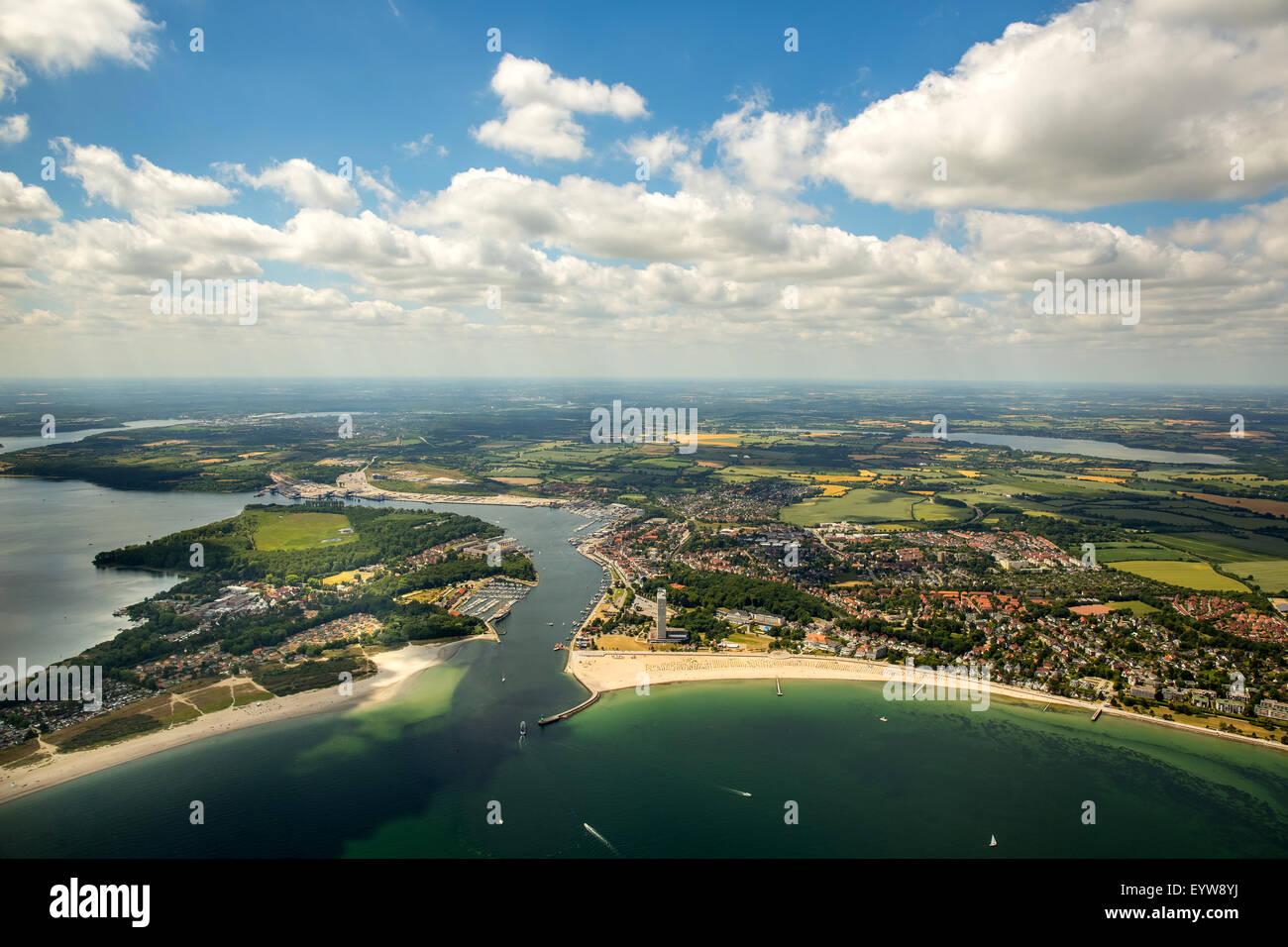 Bay of Lübeck, Travemünde, Dassow, Mecklenburg-Western Pomerania, Germany - Stock Image