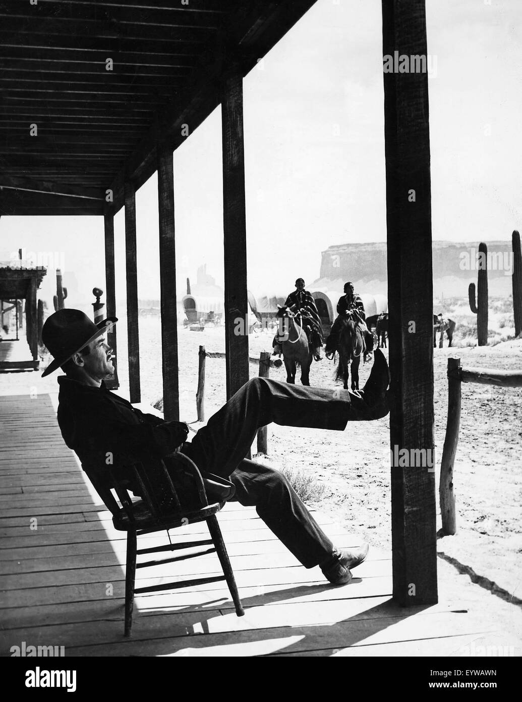 My Darling Clementine ; Year : 1946 USA ; Director : John Ford ; Henry Fonda - Stock Image