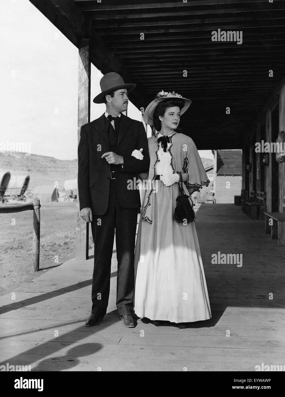 My Darling Clementine ; Year : 1946 USA ; Director : John Ford ; Henry Fonda, Cathy Downs - Stock Image