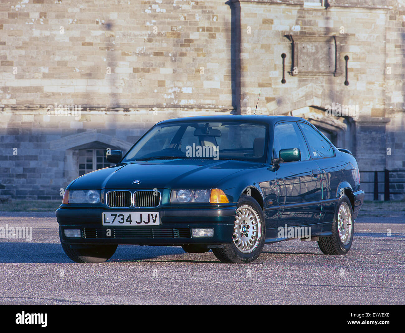 1993 BMW 318iS - Stock Image