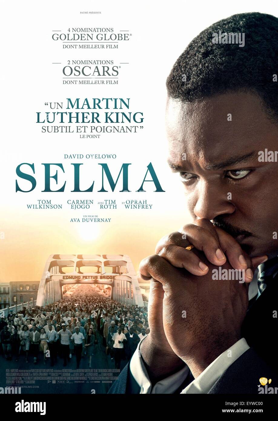 Selma Year 2014 Uk Usa Director Ava Duvernay David Stock Photo Alamy