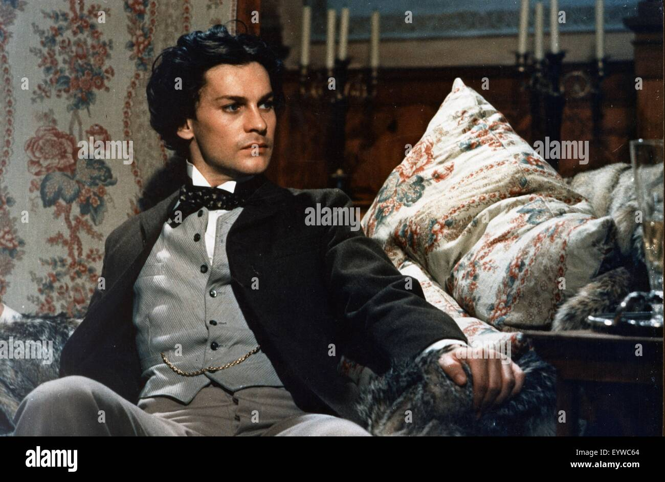 Ludwig  Year: 1972 - Italy Helmut Berger  Director: Luchino Visconti - Stock Image