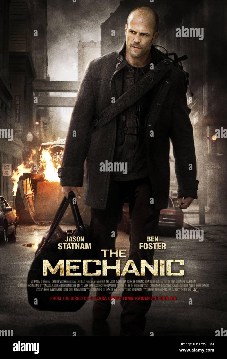 The Mechanic ; Year : 2011 USA ; Director : Simon West ; Jason Statham ; Movie poster (USA) Stock Photo