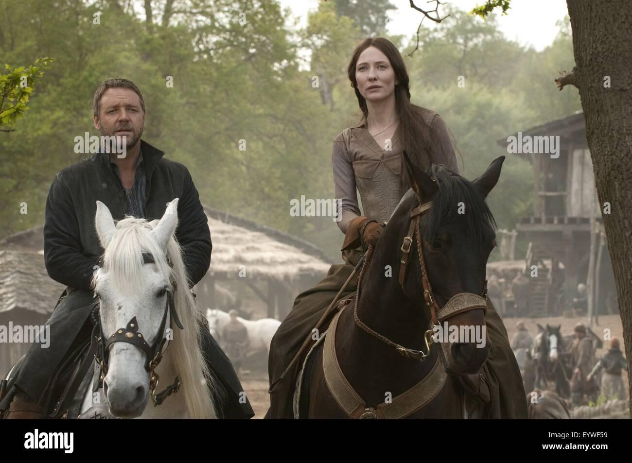Robin Hood ; Year : 2010 USA ; Director : Ridley Scott ; Russell Crowe. ; Photo: David Appleby - Stock Image