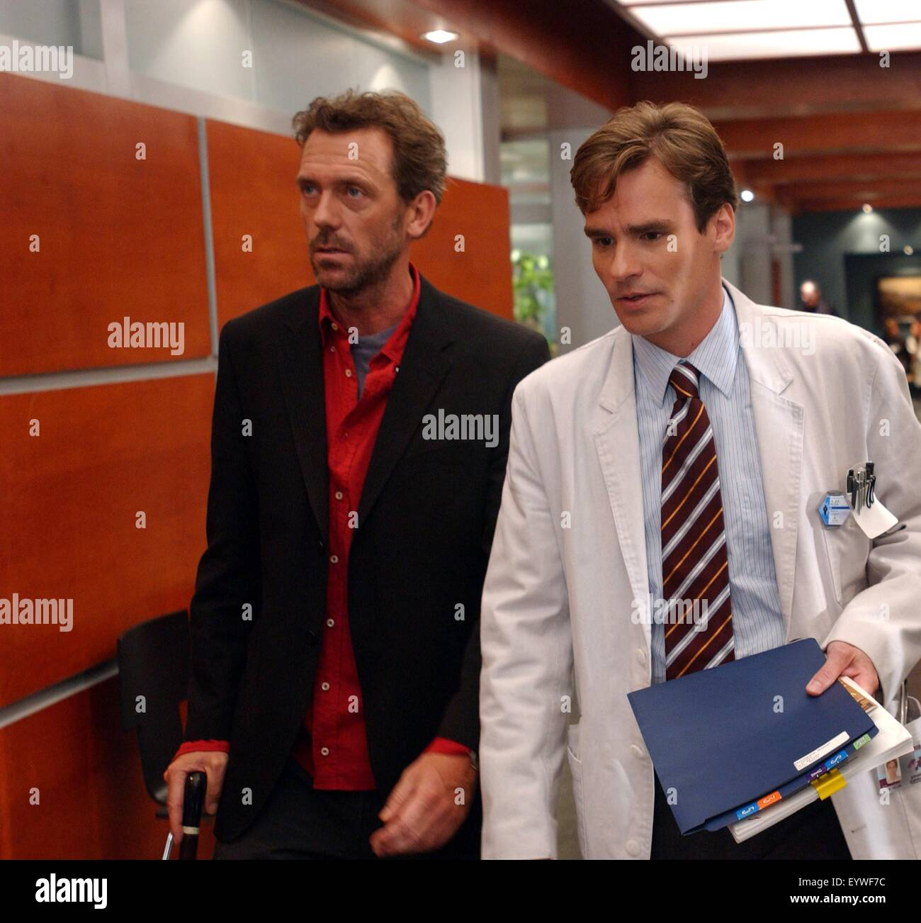 House M.D. ; TV Series 2004   ???? USA ; 2004 Season 1, Episode 6: The  Socratic Method ; Director : Peter Medak ; Hugh Laurie, Robert Sean Leonard  ; Richard ...