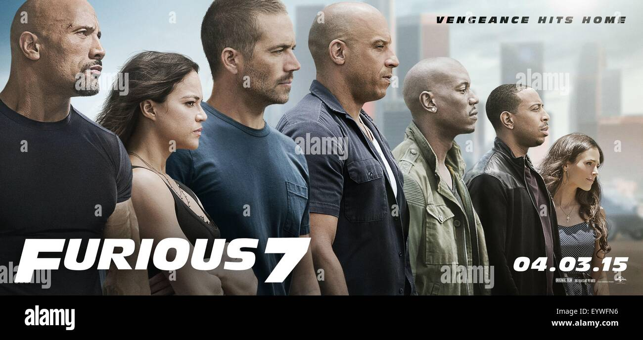 Furious 7 Year 2015 Usa Japan Director James Wan