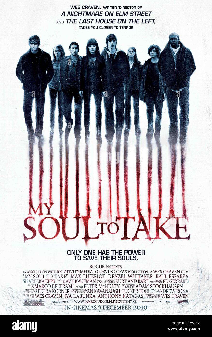 My Soul To Take Year 2010 Usa Director Wes Craven Movie Poster Usa