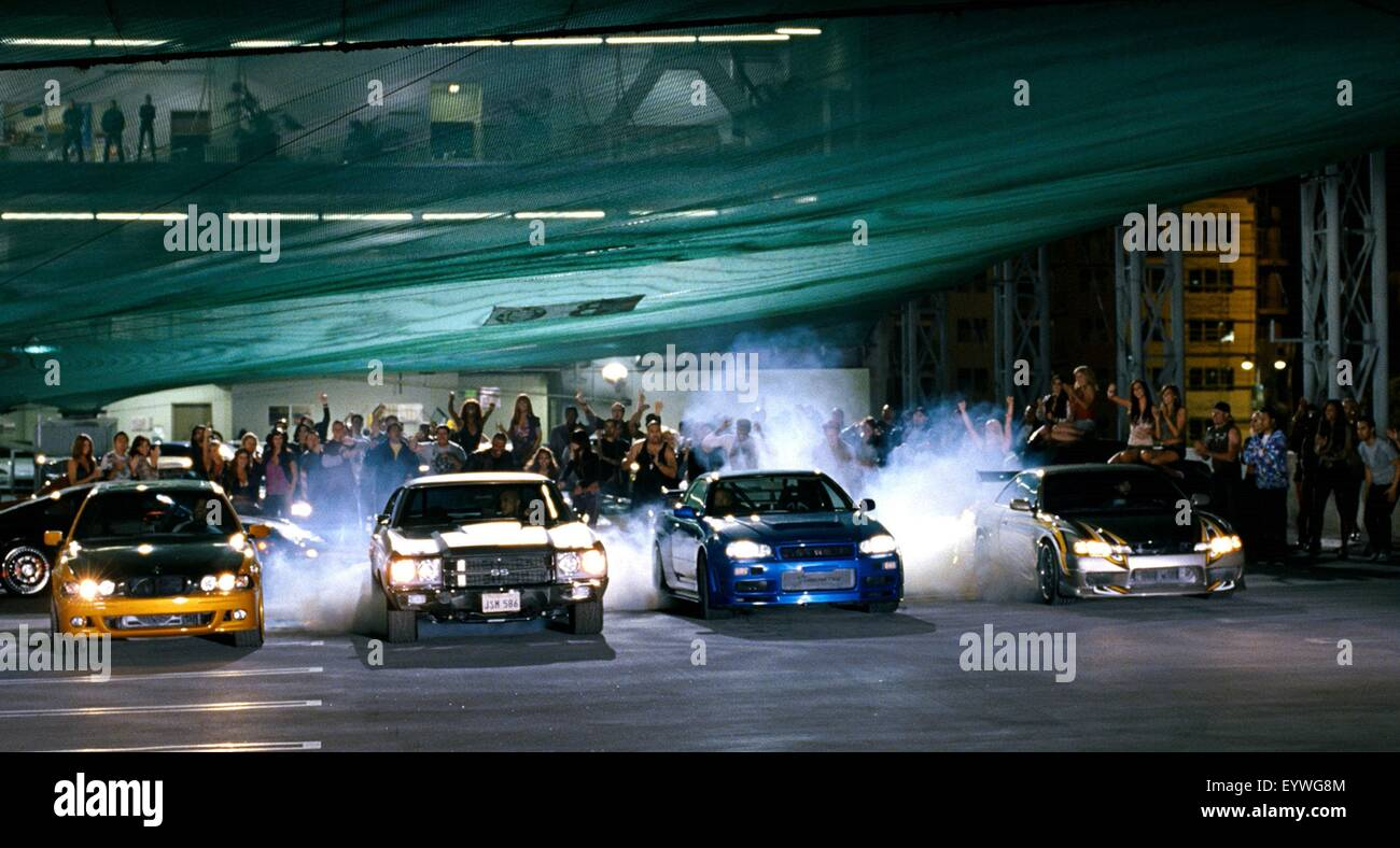 Fast and Furious ; Year : 2009 USA ; Director : Justin Lin ; Vin Diesel, Paul Walker - Stock Image