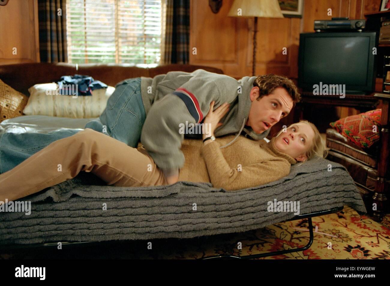 Meet the Parents ; Year : 2000 USA ; Director : Jay Roach ; Ben Stiller, Teri Polo ; Photo: Phillip V. Caruso - Stock Image