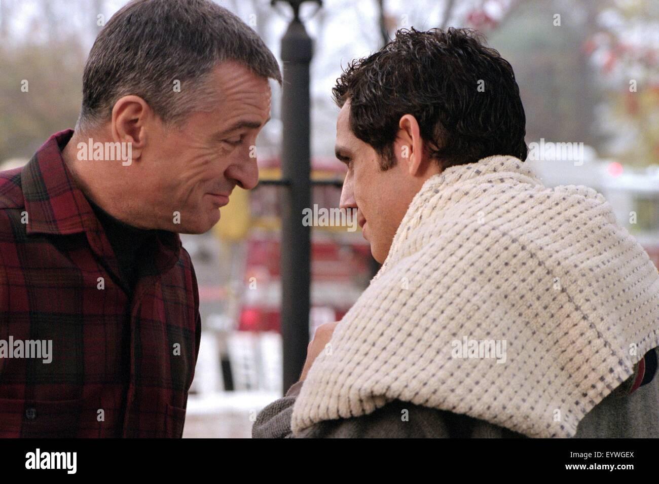 Meet the Parents ; Year : 2000 USA ; Director : Jay Roach ; Ben Stiller, Robert De Niro ; Photo: Phillip V. Caruso - Stock Image