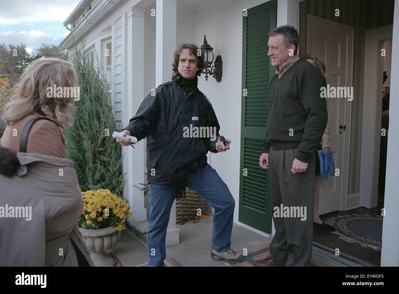 Meet the Parents ; Year : 2000 USA ; Director : Jay Roach ; Teri Polo, Jay Roach, Robert De Niro ; Shooting picture - Stock Image