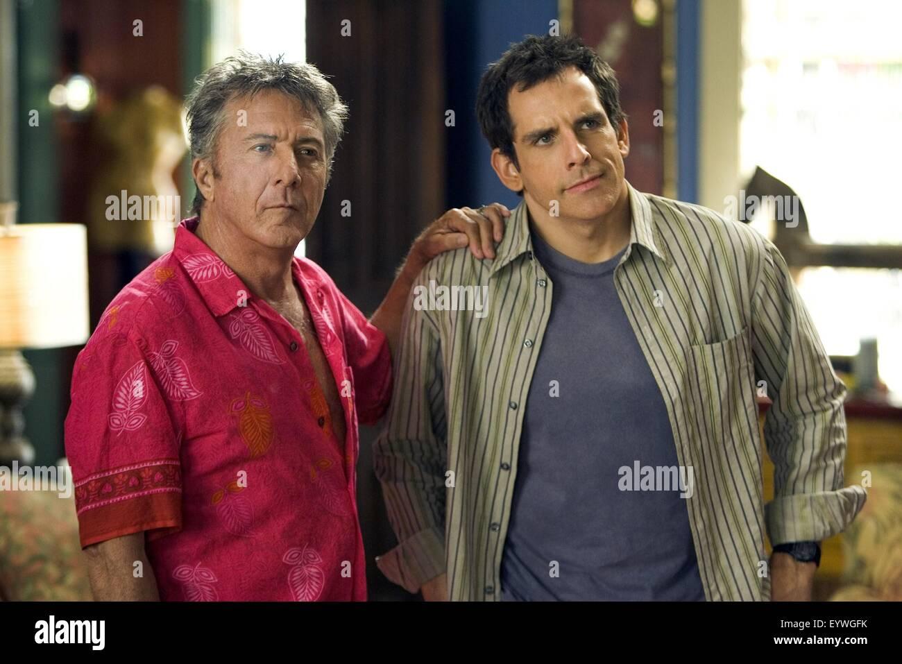 Meet the Fockers ; Year : 2004 USA ; Director : Jay Roach ; Dustin Hoffman, Ben Stiller ; Photo: Tracy Bennett - Stock Image