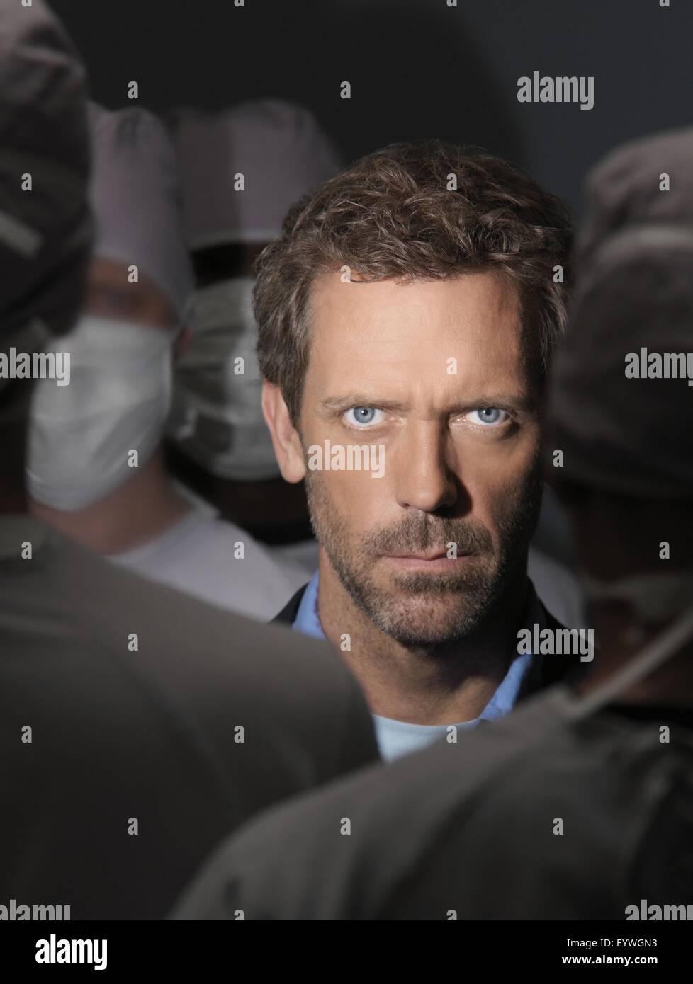 House M.D. ; TV Series 2004 - ???? USA ; 2006 Season 3 - promotion ; Hugh Laurie ; Photo: Andrew Macpherson / Fox - Stock Image