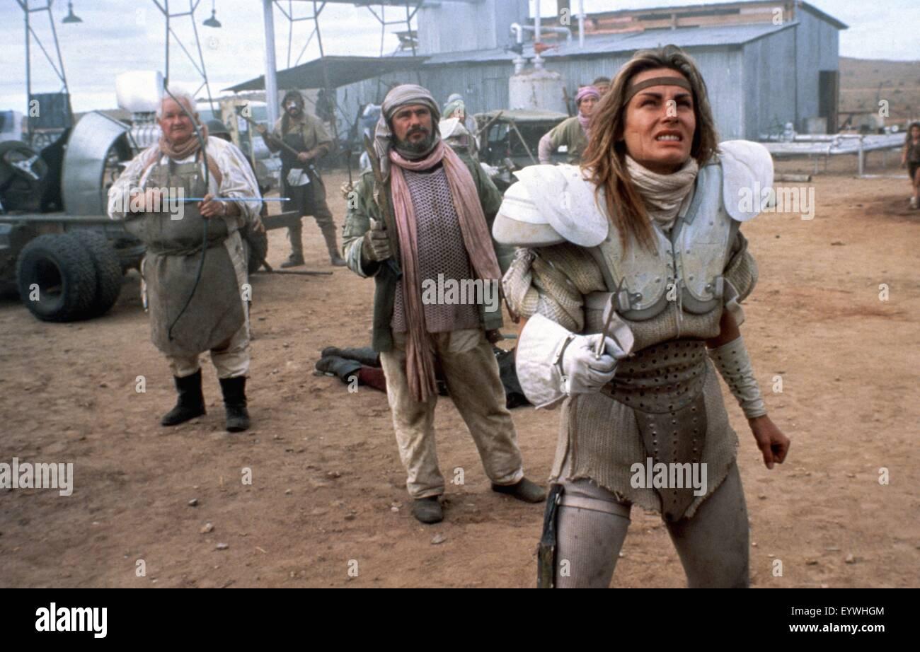 Mad Max II: The Road Warrior ; Year : 1981 Australia ; Director : George Miller ; Virginia Hey ; Photo: Carolyn - Stock Image