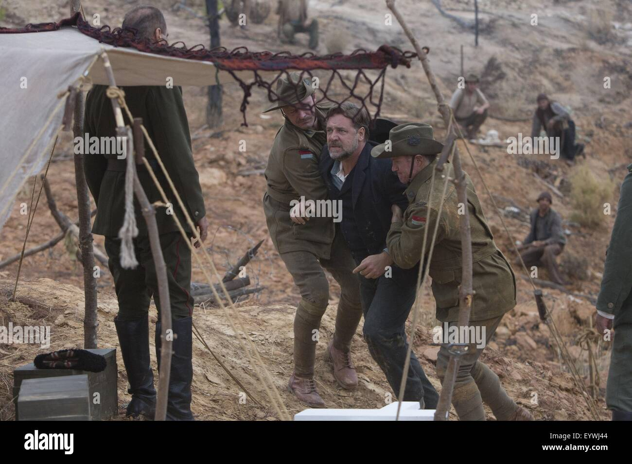 The Water Diviner ; Year : 2014 USA / Turkey / Australia ; Director : Russell Crowe ; Russell Crowe ; Photo: Mark - Stock Image