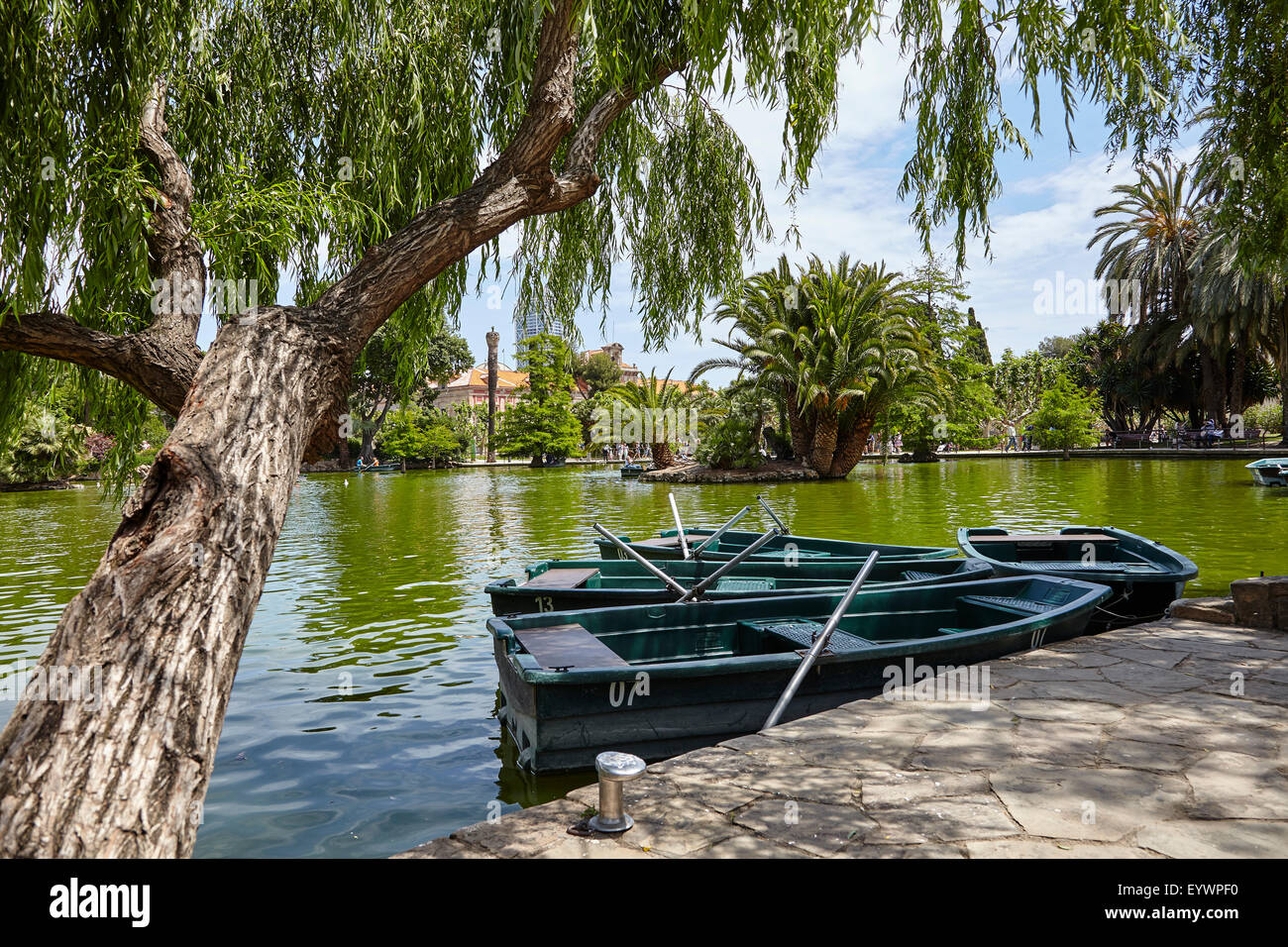 Parc de la Ciutadella, Barcelona, Catalonia, Spain, Europe - Stock Image