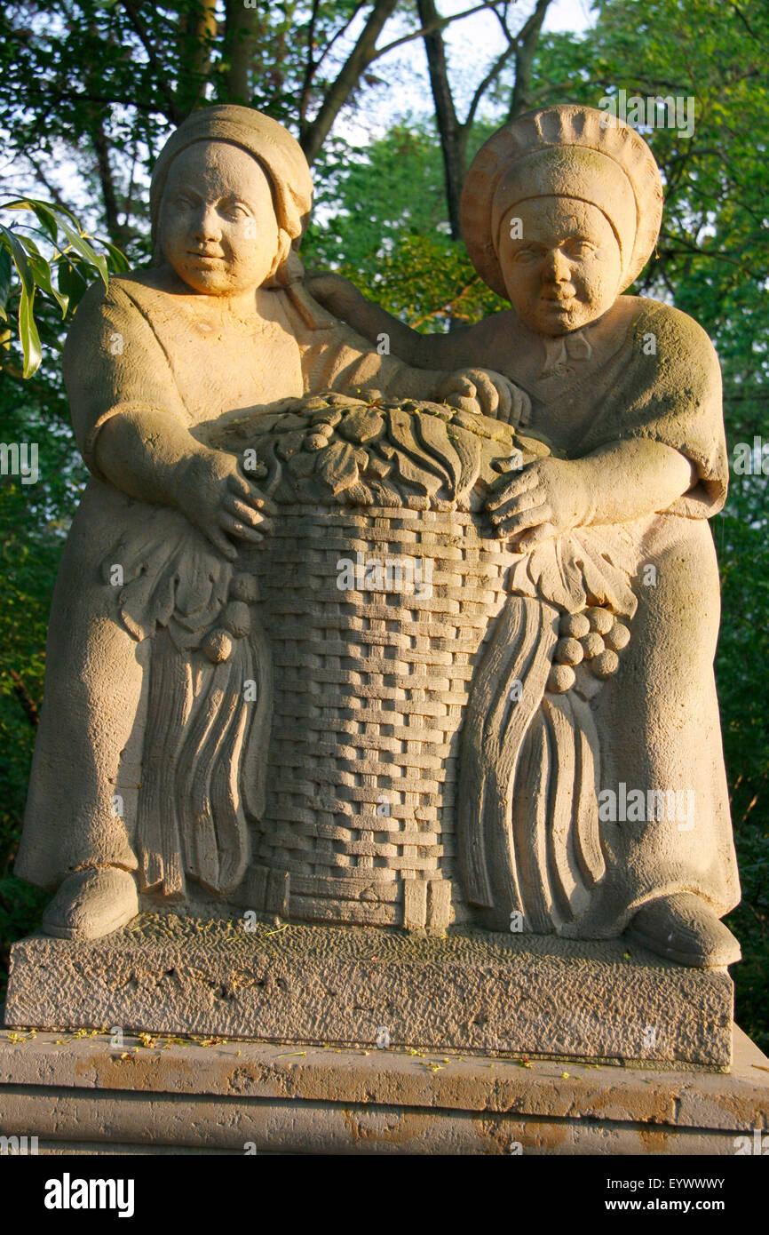 Impressionen: Maerchenbrunnen, Volkspark Friedrichshain, Berlin-Prenzlauer Berg. - Stock Image