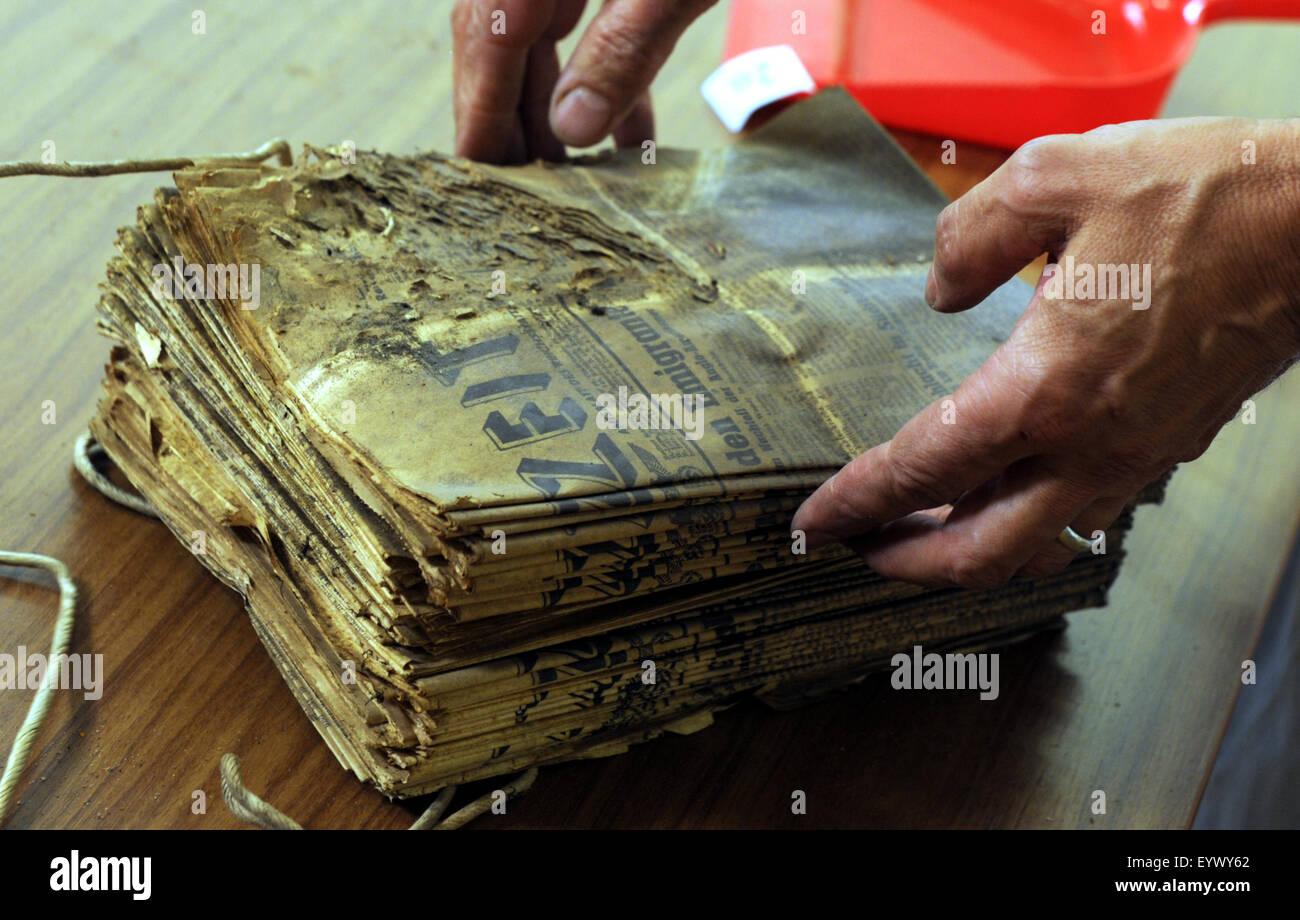 Historians Unwrap Hidden Things In Usti Nad Labem Museum