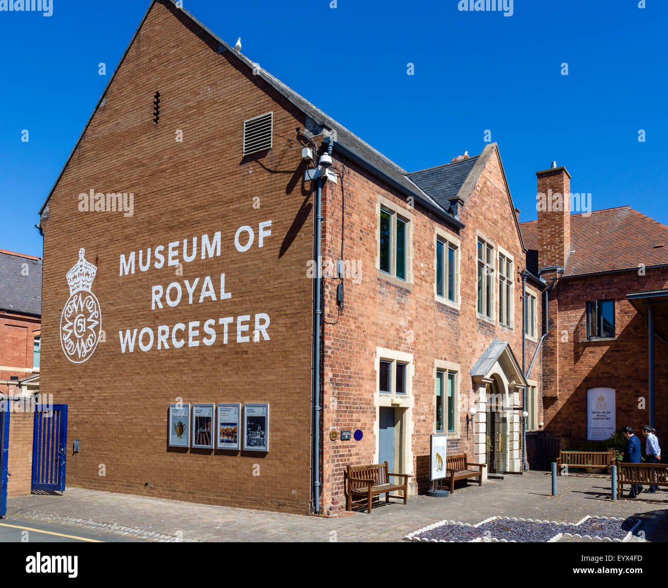 Royal Worcester Factory Stock Photos & Royal Worcester Factory Stock ...