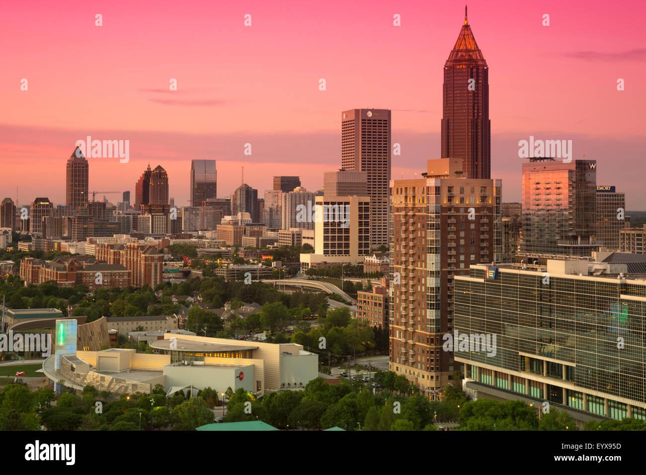 Downtown Atlanta Coca Cola Stock Photos & Downtown Atlanta Coca Cola ...