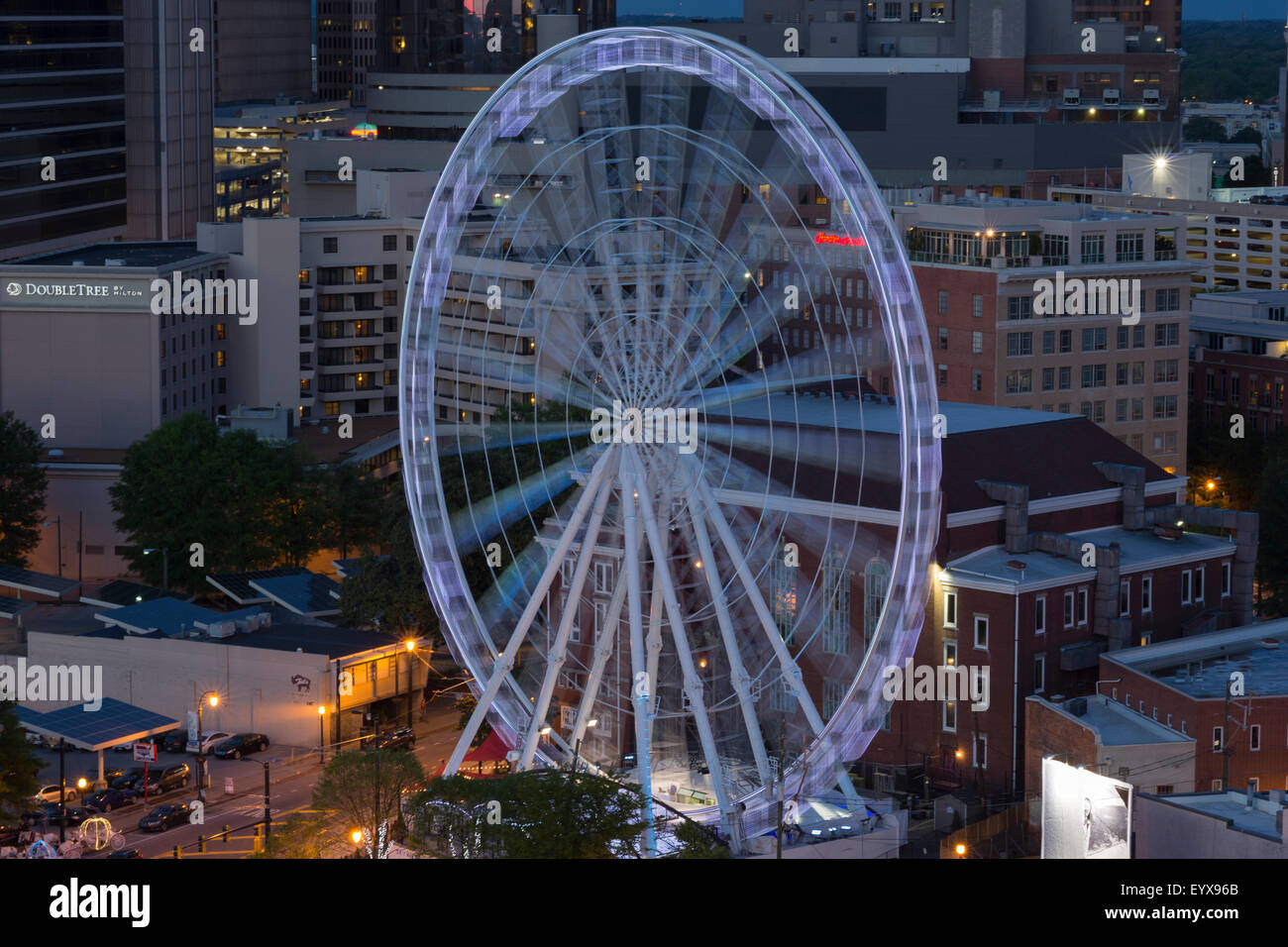 My family and I took Skyview Atlanta photos