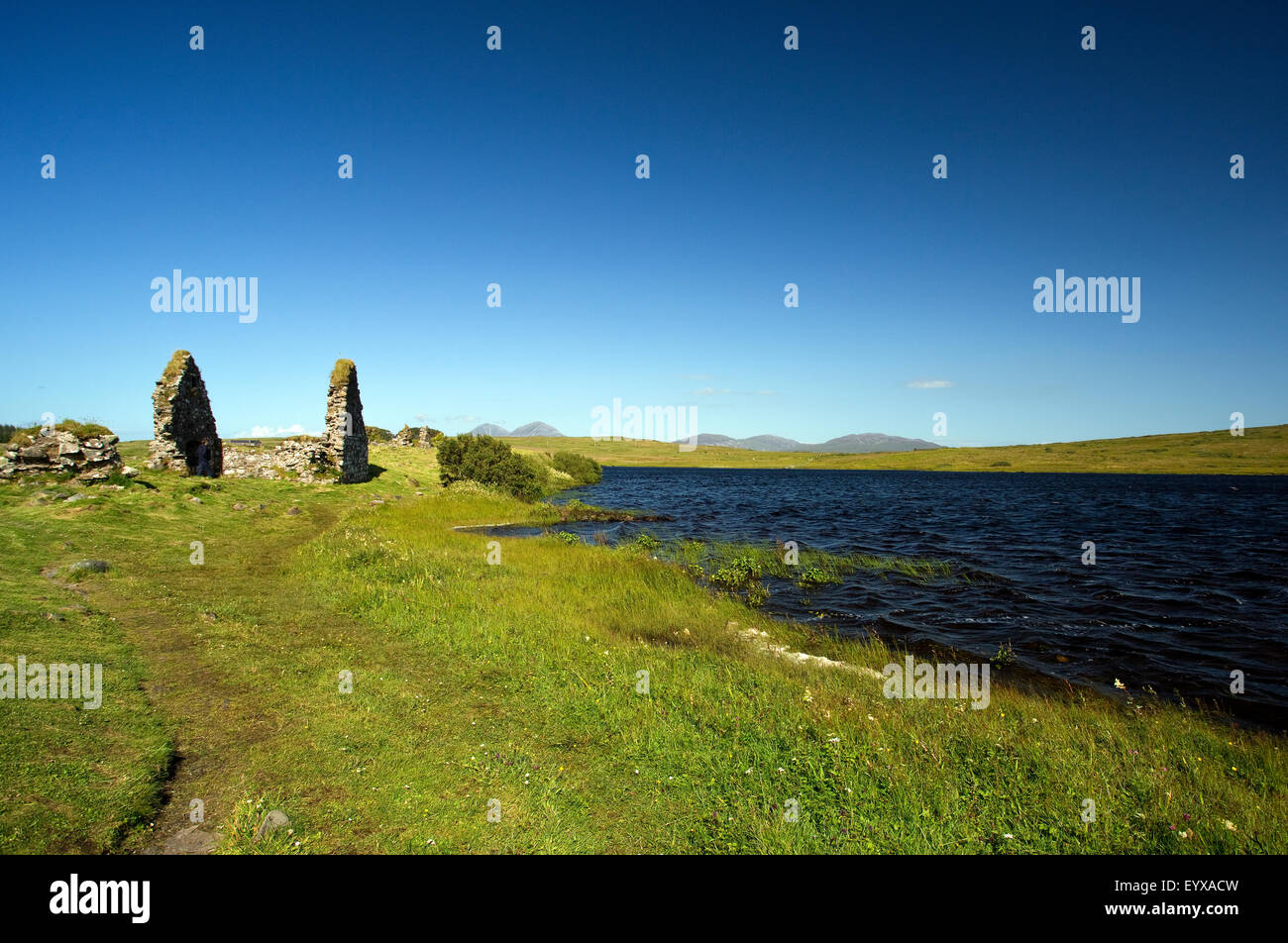 Finlaggan, Lordship of the Isles, Islay Stock Photo
