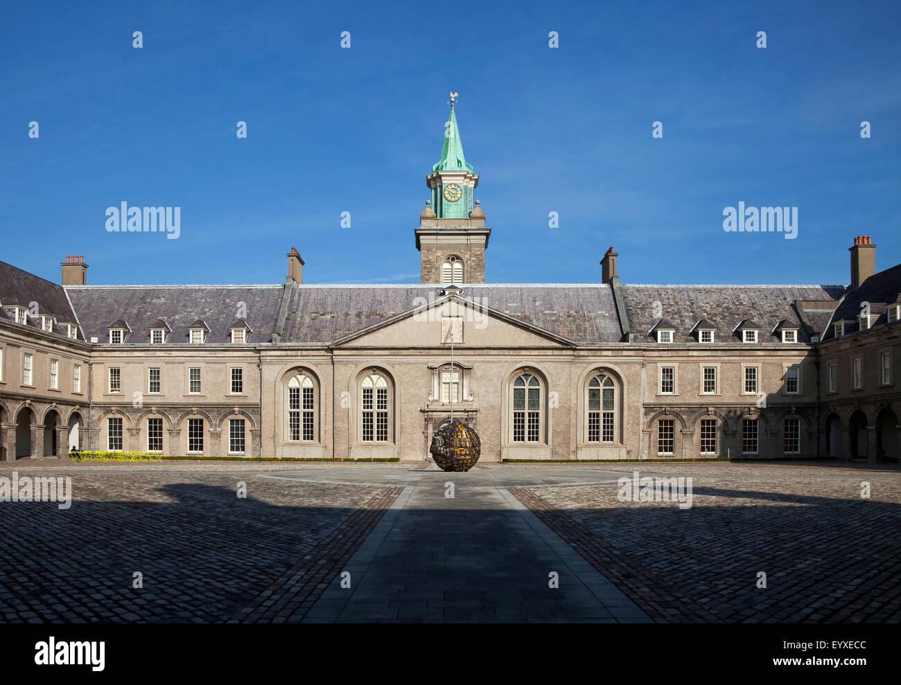 The Royal Hospital Kilmainham, built in 1684 by Sir William Robinson, now the Museum of Modern Art (IMMA), Kilmainham, - Stock Image
