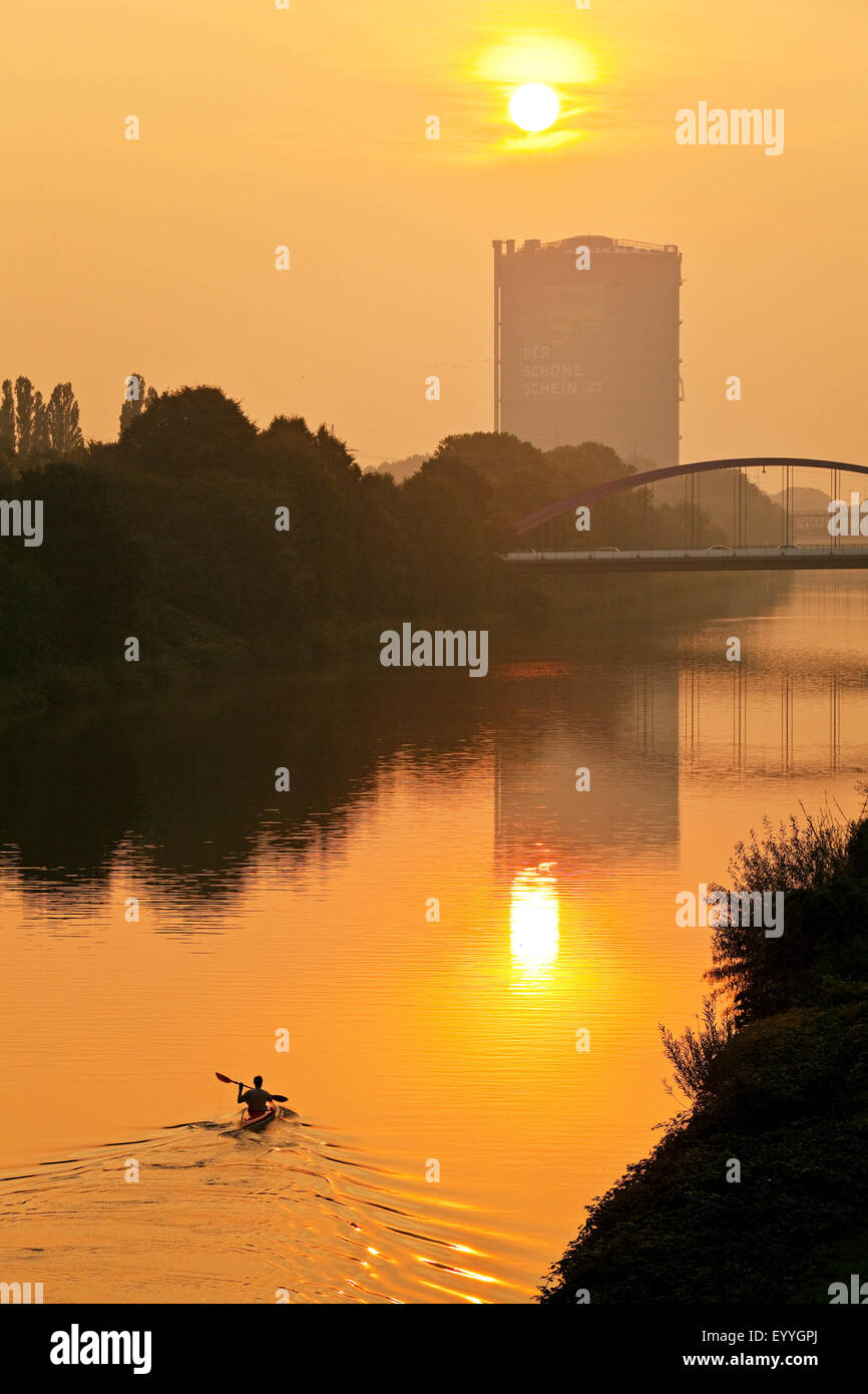 , Germany, North Rhine-Westphalia, Ruhr Area, Oberhausen Stock Photo