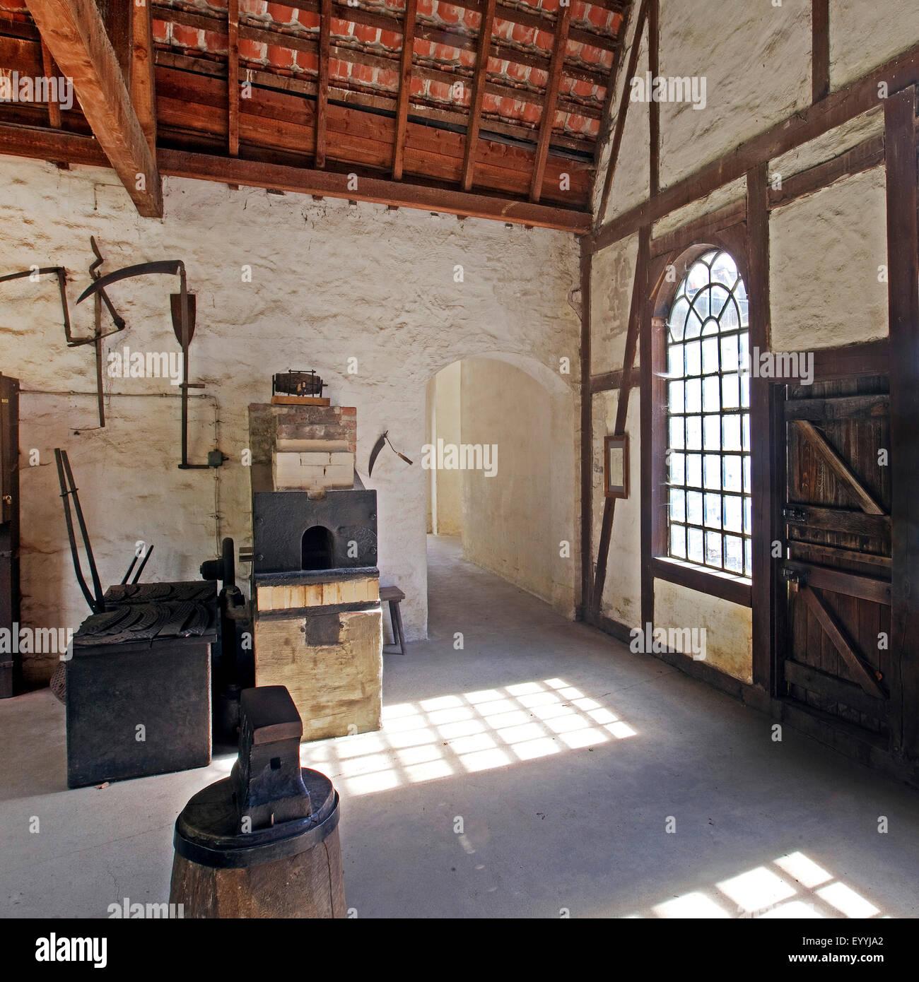 zinc rolling mill of Hagen Open-air Museum, Germany, North Rhine-Westphalia, Ruhr Area, Hagen - Stock Image