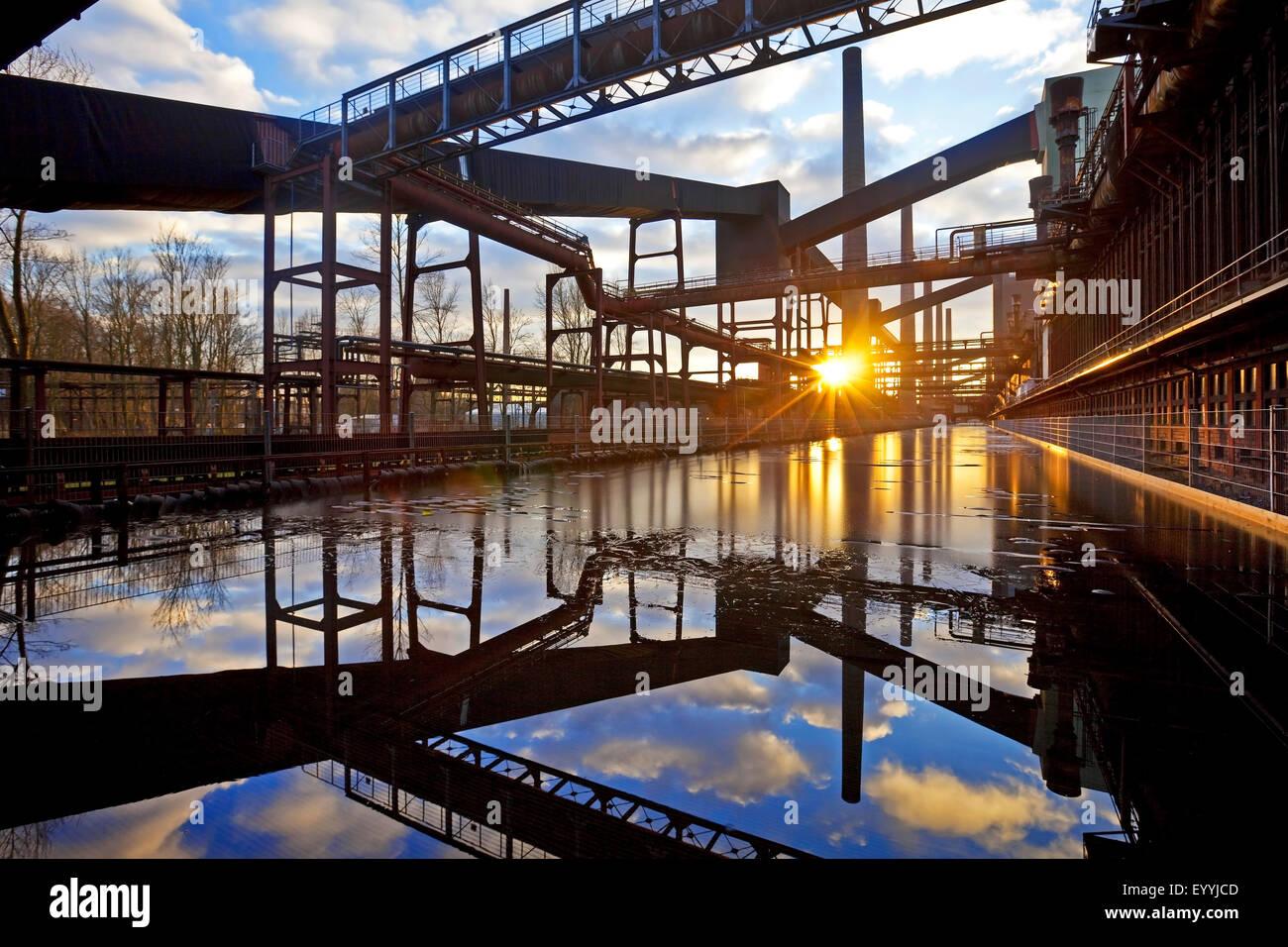 coking plant Zollverein, Germany, North Rhine-Westphalia, Ruhr Area, Essen - Stock Image