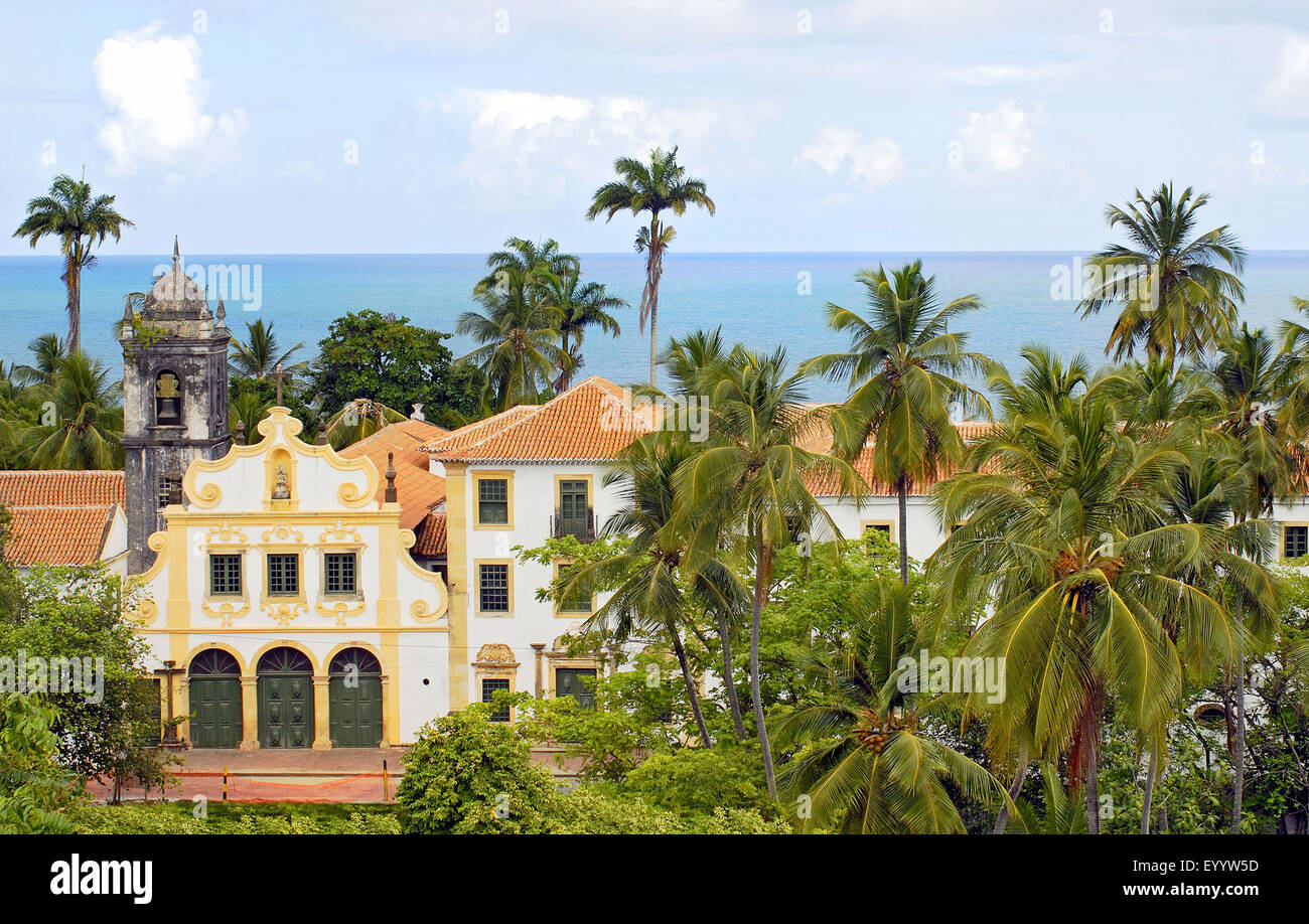 Quartier Olinda in Recife, Brazil, Recife - Stock Image