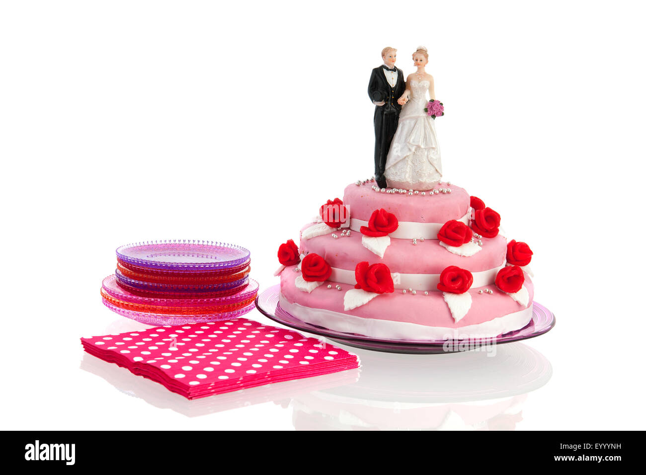 Wedding Cake Topper Wedding Cake Figures Stock Photos & Wedding Cake ...