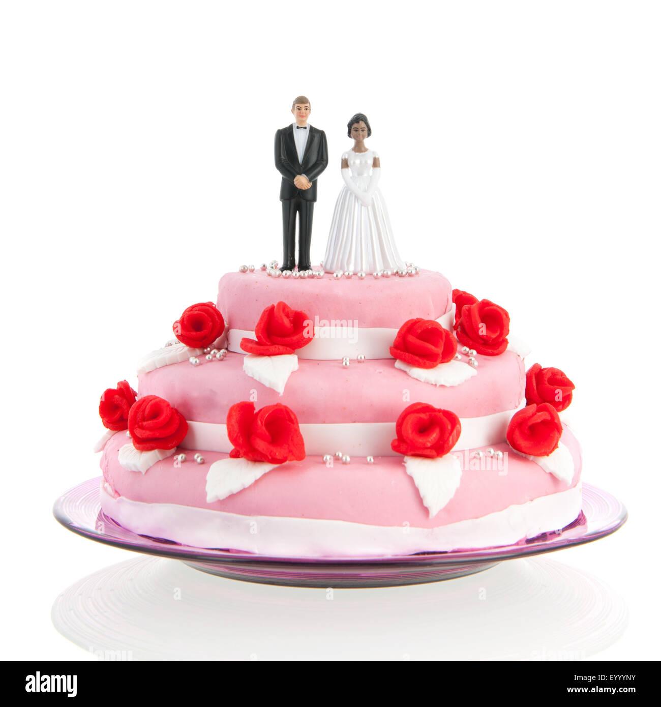 Figures On Wedding Cake Stock Photos & Figures On Wedding Cake Stock ...