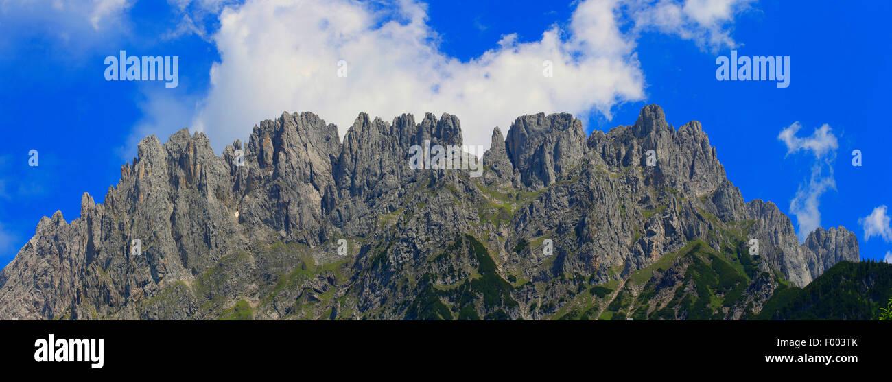 Kaiser Mountains, Austria, Tyrol - Stock Image