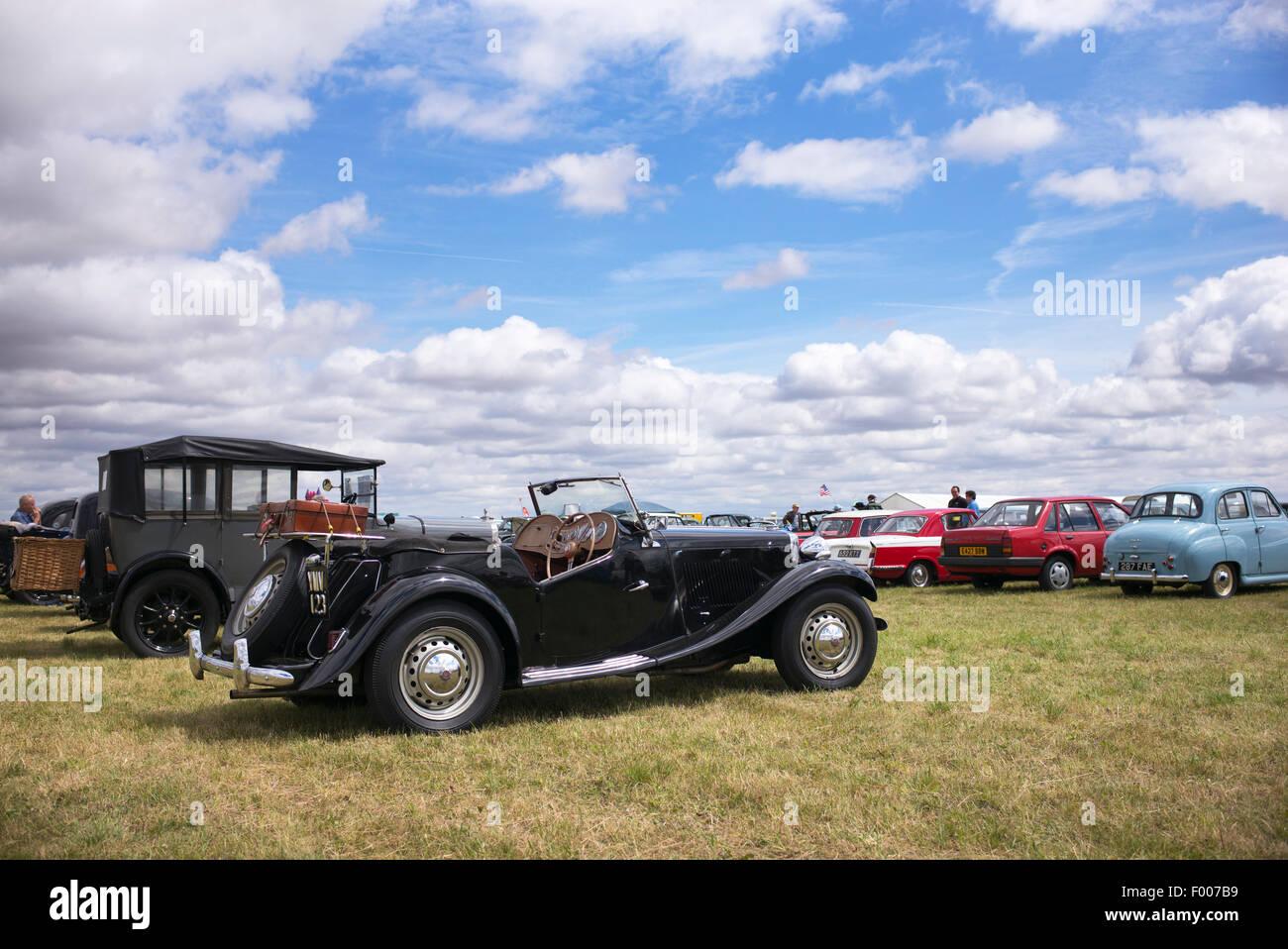 Morgan At A Classic Car Show England Stock Photo Alamy - Car show england