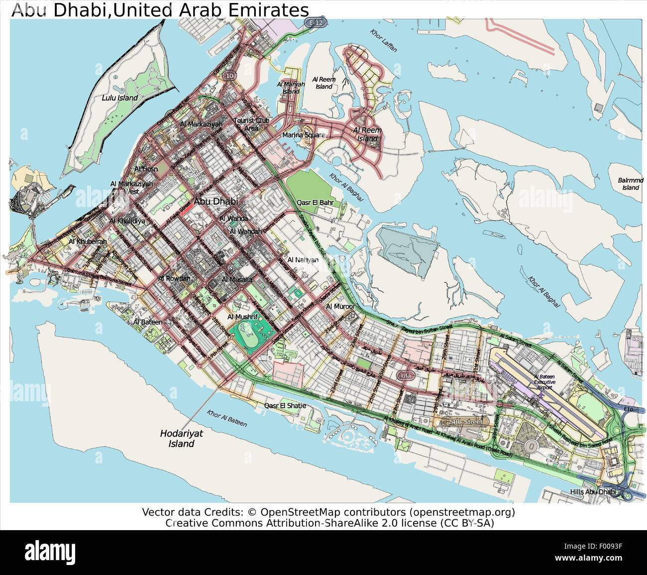 Abu Dhabi United Arab Emirates Country city island state location ...