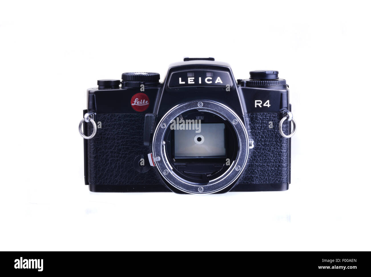 PANAMA, PANAMA - JULY 30, 2015: Leica R4  were 35mm SLR cameras manufactured by Leica between 1980 and 1996 - Stock Image