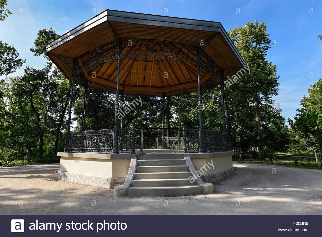 France,Paris,Bois de Boulogne Kiosque,,Art Museum.©William Stevens - Stock Image