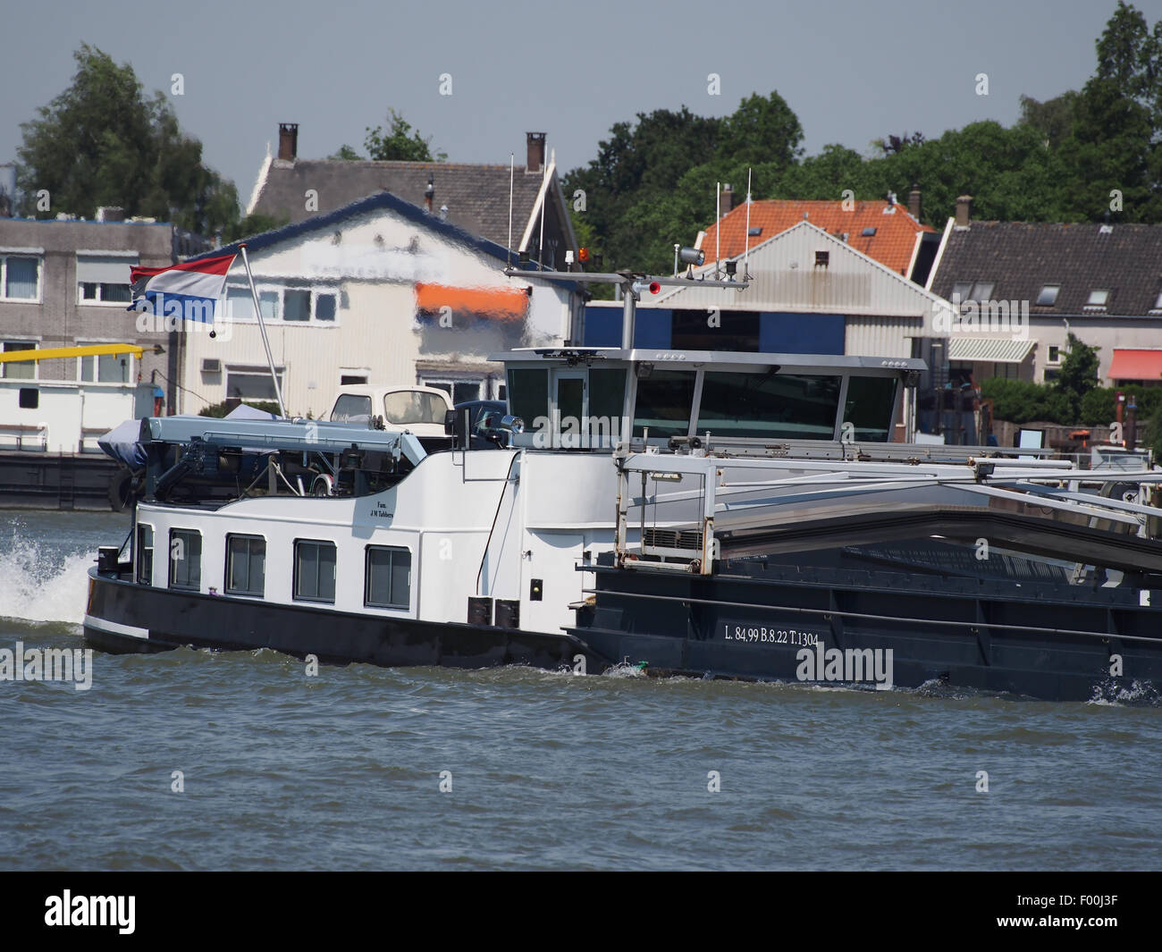 Deviant - ENI 03310475, Noord rivier pic2 - Stock Image