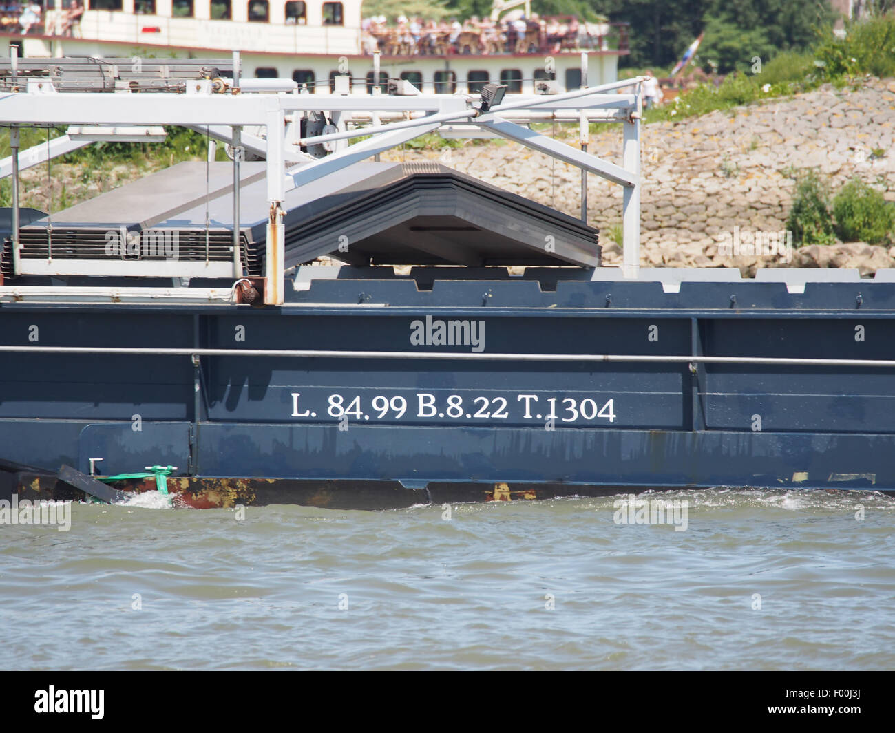 Deviant - ENI 03310475, Noord rivier pic4 - Stock Image