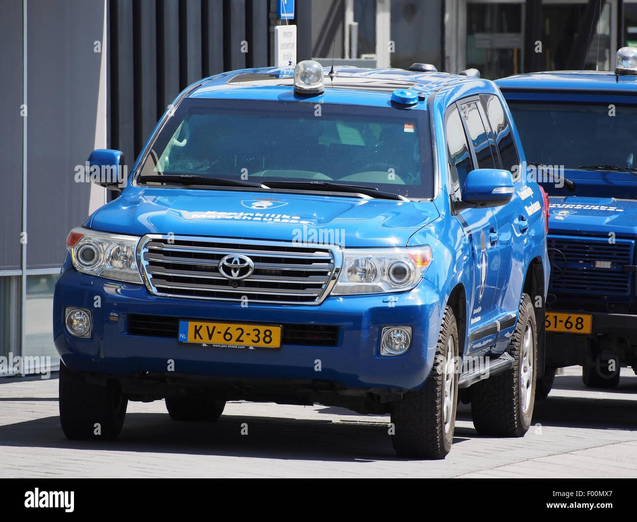 Toyota Koninklijke Marechaussee, Schiphol pic1 - Stock Image