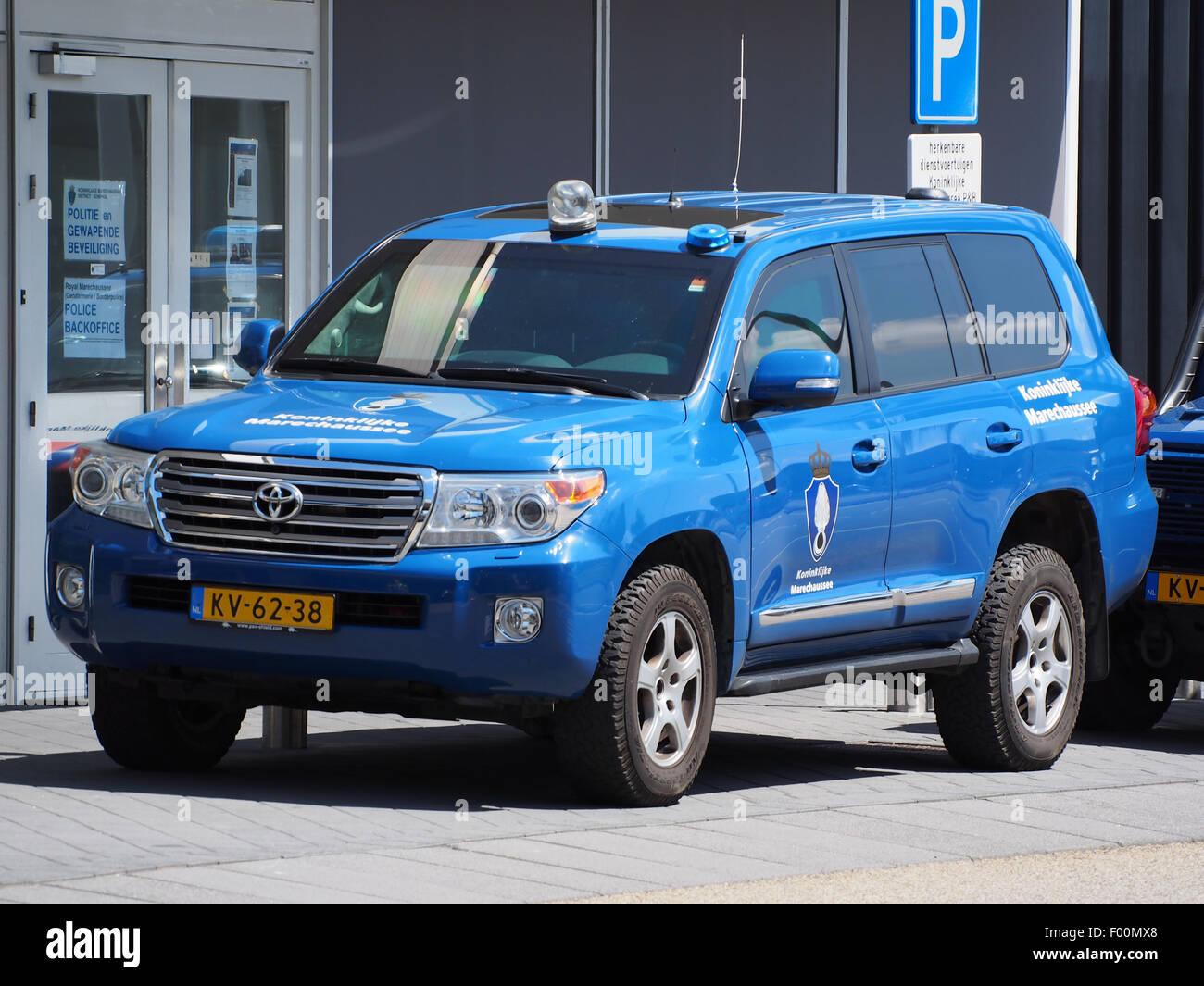 Toyota Koninklijke Marechaussee, Schiphol pic2 - Stock Image